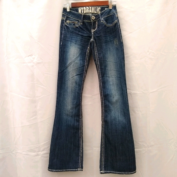 Hydraulic Jeans Metro Boot size 0